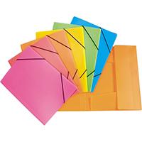 Папки на резинках