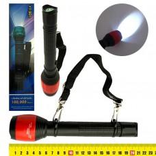 Фонарик LED походный с компасом, с рассеивателем, пластик, без батарейки 8377