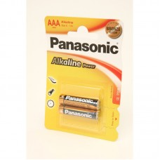 Батарейка LR03 Panasonic Alkaline Power (2*BL) (2/24/120) цена за блистер, *