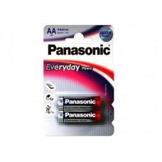 Батарейка LR03 Panasonic Everyday Power (2*ВL) (2/24/120) цена за блистер (2шт) **