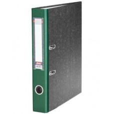 Папка-рег. 50мм 5ПР_00312  мраморная т-зеленая Hatber