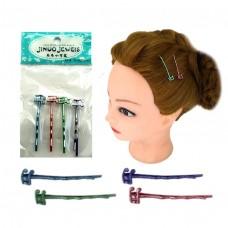 Заколка для волос 5035 Невидимки набор 4шт, цена за набор /5 /0 /5000 /0
