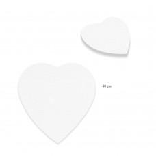 Холст грунтованный на подрамнике Сердце, лён 1071-40см