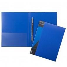 Папка с пружинным скоросш. А4ф 17мм STANDARD 700мкм, синяя AH4_00109 Hatber