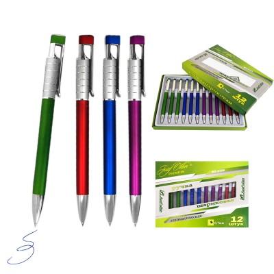 Ручка подар. 2308-WZ , металл, 0,7мм, авт, цв.асс J.Otten Premium /12 /0 /720 /0