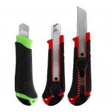 Нож 9923 канцеляр.большой, 18 мм,винтовой фиксатор,направл. J.Otten /24 /0 /240 /0