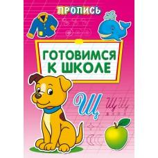 Прописи А4 ГОТОВИМСЯ К ШКОЛЕ 8л., обл.-цветная мелов.бумага ПР-6508 Проф-Пресс
