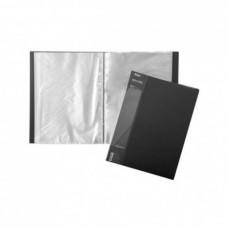 Папка 100 файлов STANDARD 800 мкм А4ф черная 40мм 100AV4_00101 Hatber