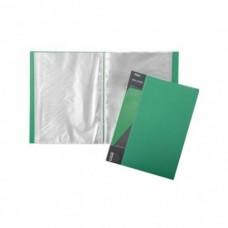 Папка 100 файлов STANDARD 800 мкм А4ф зеленая 40 мм 100AV4_00107 Hatber