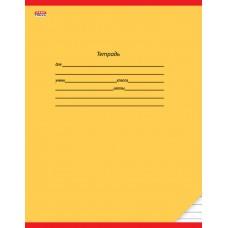 Тетрадь 12 л. линия А5 КЛАССИКА (ЖЕЛТАЯ) (цвет.мелов.обл.,1 дизайн в спайке) 12-9183 Проф-Пресс