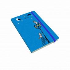 Книга для записей А5, 96л лин.