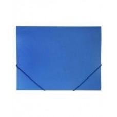 Папка на резинке А4 STANDARD 500мкм Синяя, пластик. Пк4р_00109 Hatber