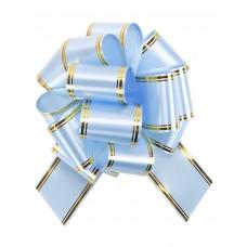 Бант оформительский - шар Золотое сечение, 5 см. голубой БЛ-6492 Миленд