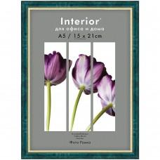 Фоторамка-пластик 21*30  Interior Office малахит Image art 585