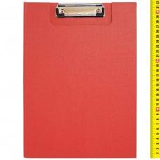 Планшет - папка А4, с зажимом, с крышкой, картон, ПВХ, КРАСНЫЙ 3288-4 J.Otten