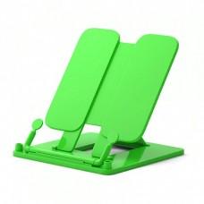 Подставка для книг 19х23,5см пластик, Neon Solid, зеленая 53529 ERICH KRAUSE