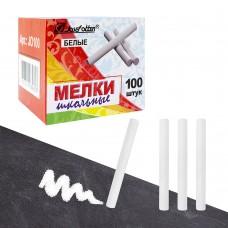 Мел белый круглый (цена за 1шт) коробка 100шт JO-100 J.Otten