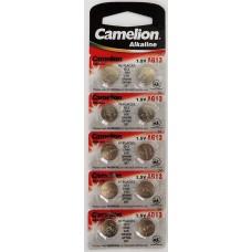 Батарейка Camelion, G13, 357, LR1154,LR44 (10*card) цена за 1 шт