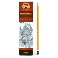 Карандаш KOH-I-NOOR 1500, 4В цена за 1 шт. Koh-I-Noor