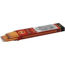 Карандаш KOH-I-NOOR 1500, 4Н цена за 1 шт. Koh-I-Noor