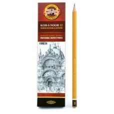 Карандаш KOH-I-NOOR 1500, 2В цена за 1 шт. Koh-I-Noor