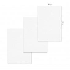 Холст грунтованный на картоне 10х15см, 4832-1 хлопок, цена за 1шт J.Otten /5 /50 /200 /0