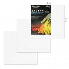 Холст грунтованный на картоне 20х20см, 4832-5 хлопок, цена за 1шт J.Otten /5 /0