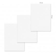 Холст грунтованный на картоне 12х18см, 5297-1 хлопок, цена за 1шт J.Otten /1 /10