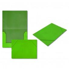 Папка на резинке 5037-1 зелёная, А4, картон J.Otten /10 /0 /480 /0