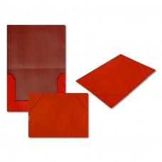 Папка на резинке 5037-3 красная, А4, картон J.Otten /10 /0 /480 /0