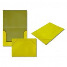 Папка на резинке 5037-4 желтая, А4, картон J.Otten /10 /0 /480 /0