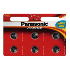 Батарейка 2025 Panasonic (6*Bl, 3V) цена за 1шт (Original) Power Cells 5925*000343