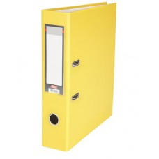 Папка-рег. 70мм бумвинил желтый 7ПР_00016 039435 Hatber