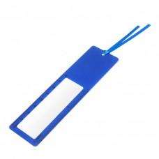 Лупа мягкая с линейкой, 3-х крат.увел, длина 14см, ширина 3.8см, пластик 9627 J.Otten