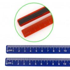 Магнит для доски Линейка 19см,цена за набор 2шт,цв.асс 9223 J.Otten