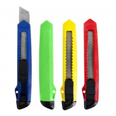 Нож 9243 канцеляр.большой ЭКО, 18мм, фиксатор, асс J.Otten /100 /0 /800 /0